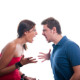 Fact Sheets Domestic Violence and Assault with a Young couple fighting photo