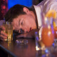 Drunken, partying man at the Pub bar who may face court time later image
