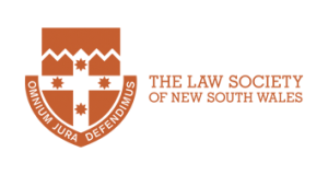 Uzma Abbas,member of the Law Society of NSW.This is their Logo.