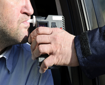 Police Breath Testing driver for Drunk Driving image